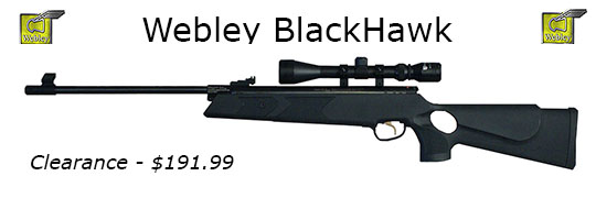 Webley Blackhawk .22 Caliber