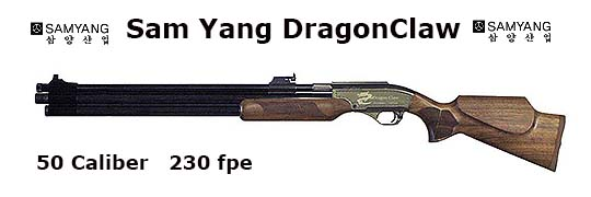 Sam Yang Dragon Claw .50 Caliber