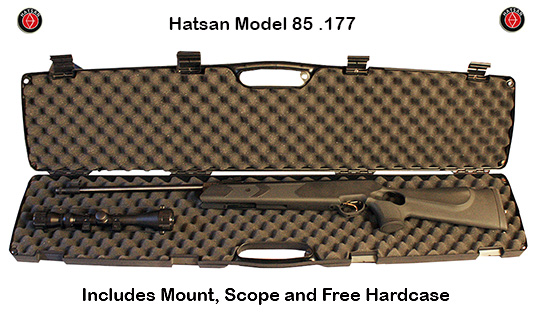 Hatsan 85 Sniper with free hard case