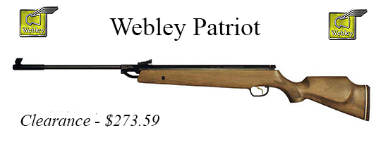 Webley Patriot .22 caliber