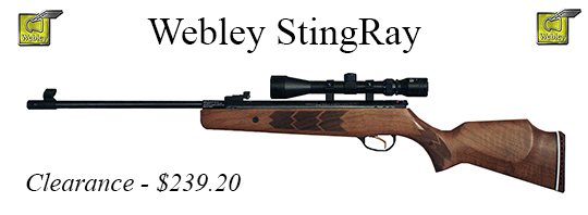 Webley StingRay .177 caliber