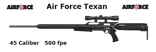 Air Force Texan .45 Caliber