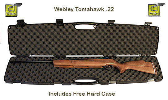 Webley Tomahawk with free hard case