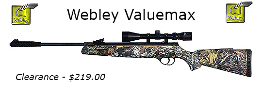 Webley Valumax VMX .177