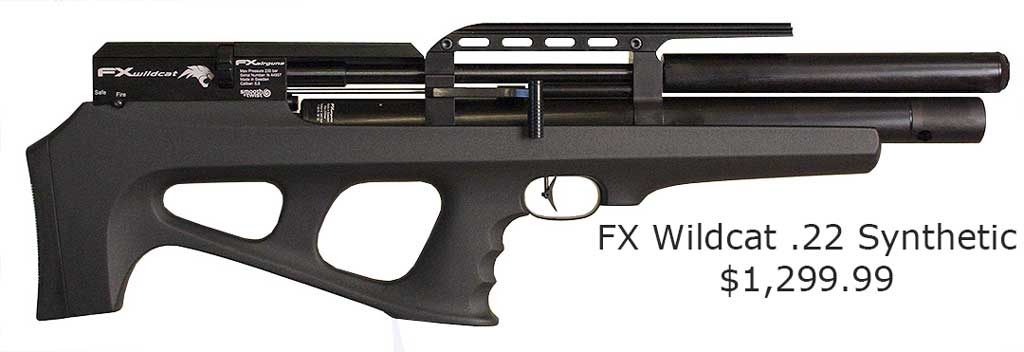 FX Wildcat .22 Synthetic