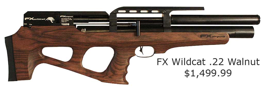FX Wildcat .22 Walnut