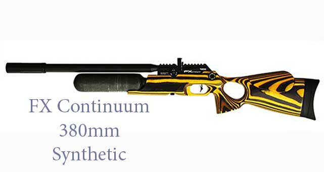 FX Continuum 380mm Yellowjacket Laminate