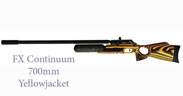 FX Continuum 700mm Yellowjacket Laminate