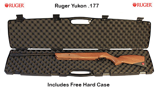 Ruger Yukon with free hard case