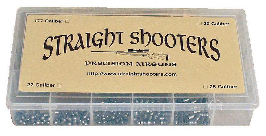 Straight Shooters Full Pellet Sampler  25