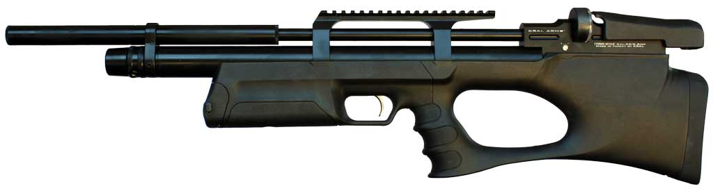 Kral Arms Puncher Breaker Silent Synthetic  22 Bullpup