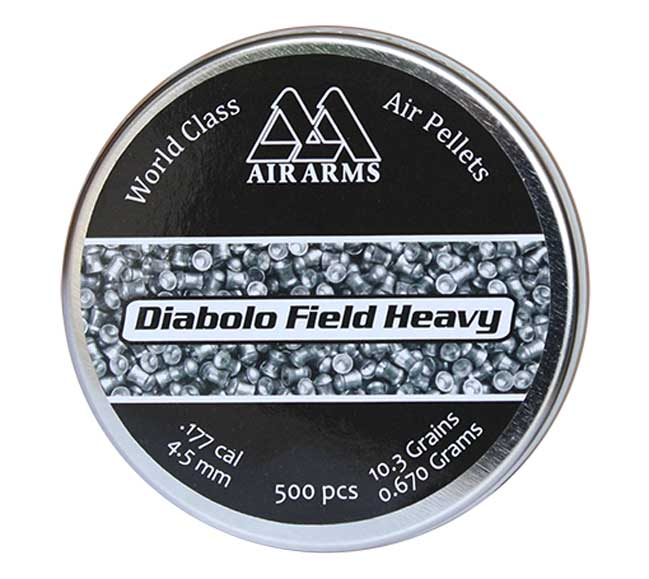 Field Heavy .177 4.52, 10.34g, Dome 500ct