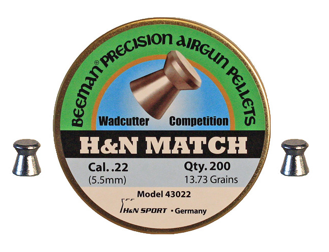 Beeman H&N Match Pellets .22