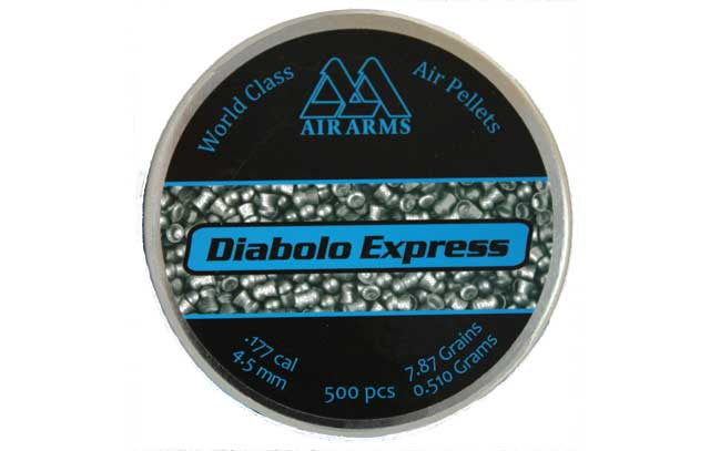 Express .177, 7.87 Grains, Domed, 500ct