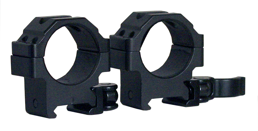 Leapers RQ2W3104  2 Piece Quick Release Mounts 30mm Low