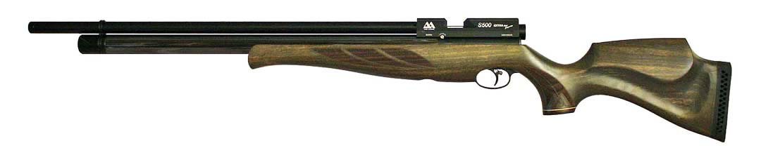 Air Arms S500 Extra FAC Super-Lite .22 Hunter Green