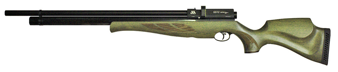 Air Arms S510 Extra FAC Super-Lite .25 Hunter Green