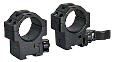 Leapers RQ2D1154  2 Piece Quick Release Mounts 1""