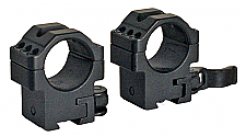 Leapers RQ2D1156  2 Piece Quick Release Mounts 1""