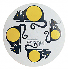 Cometa Replacement Paper Targets-Yellow